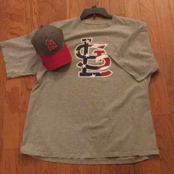 MLB Other - ⚾️ St. Louis Cardinals T-Shirt and Hat combo.